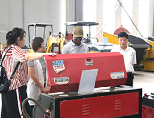 Warmly welcome Ugandan merchants to visit Jining BST machinery